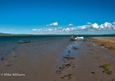 boats on Cashen estuary