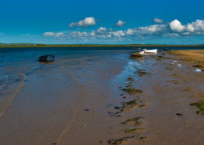 boats on the Cashen estuary