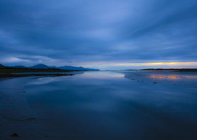 Tralee bay at dusk