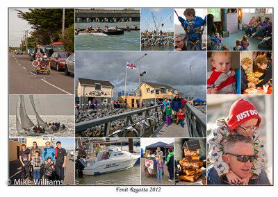 Fenit regatta photo montage