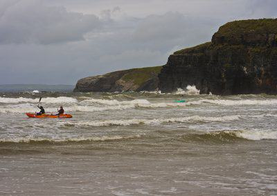 Canoe at Ballybunion