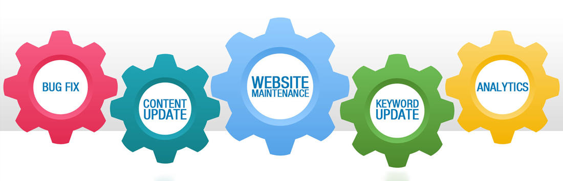 web maintenance logo