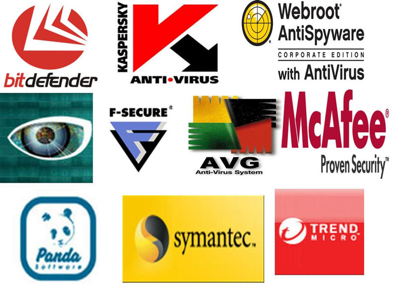 Anti virus logos photo